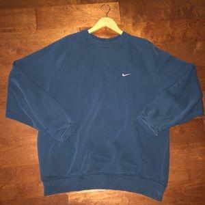 Nike Navy blue sweatshirt🌊